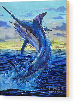 Swordfish Wood Prints
