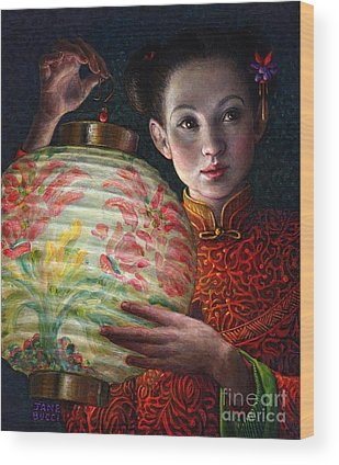 Chinese Girl Wood Prints