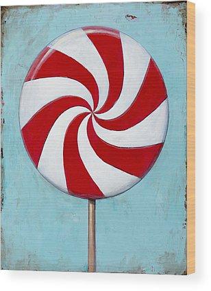 Candy Wood Prints