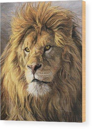 Portraits Of Animals Wood Prints