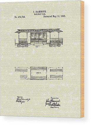 Hammond Wood Prints