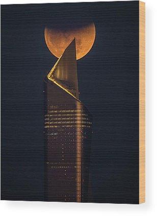 Blood Moon Wood Prints