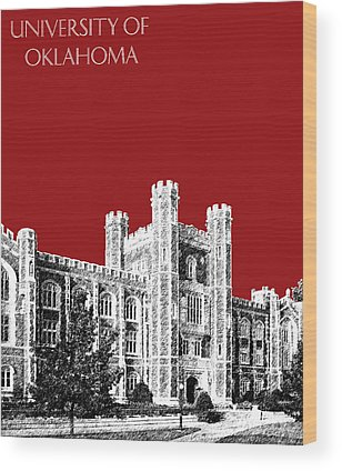 Oklahoma University Wood Prints