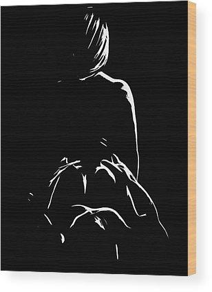 Intimate Portrait Wood Prints