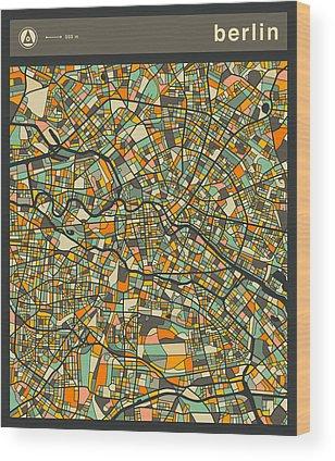 Berlin Wood Prints