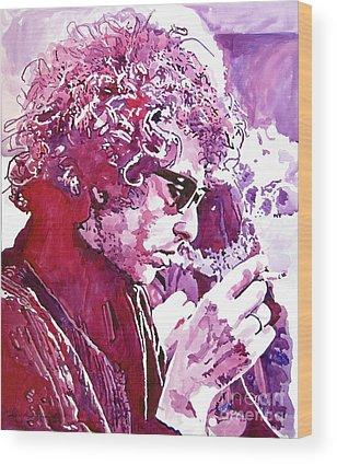 Bob Dylan Wood Prints