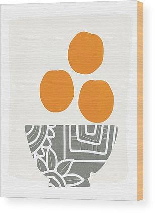 Citrus Fruit Wood Prints