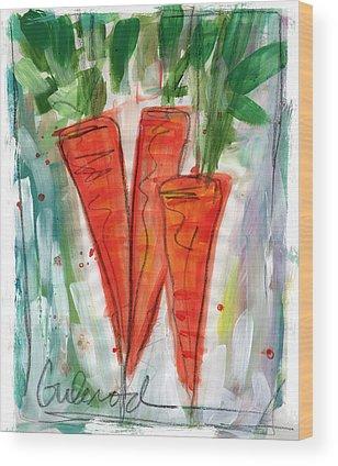Carrot Wood Prints