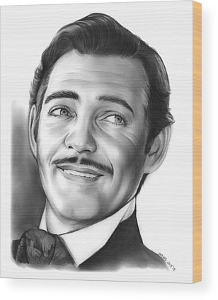 Clark Gable Wood Prints