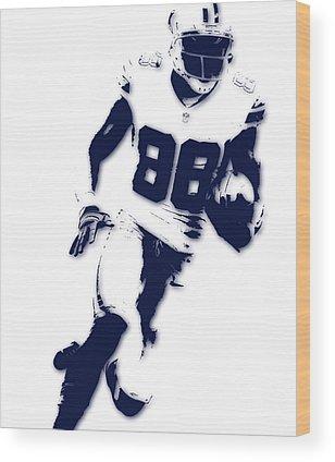 Dallas Cowboys Wood Prints