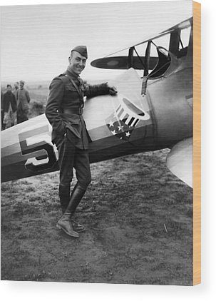Eddie Rickenbacker Wood Prints