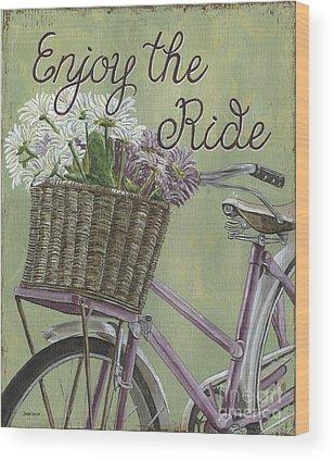 Cycle Wood Prints