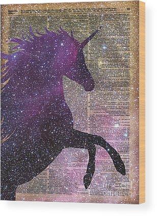 Unicorn Wood Prints
