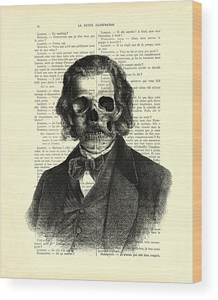 Trick Or Treat Digital Art Wood Prints