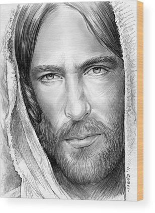 Lamb Of God Wood Prints