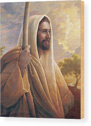Jesus Christ Wood Prints