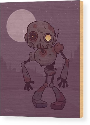 Robot Wood Prints