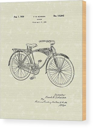 Schwinn Wood Prints