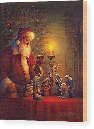 Claus Wood Prints