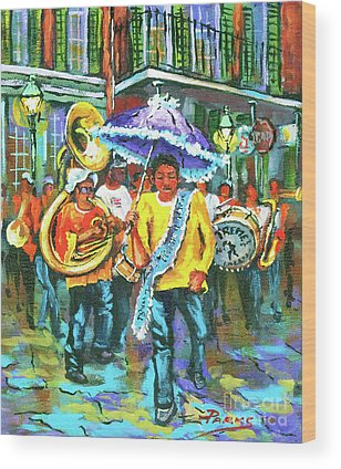 Brass Band Wood Prints