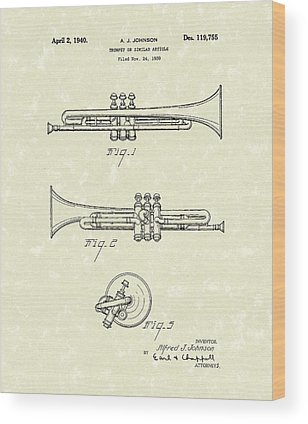 Trumpets Wood Prints