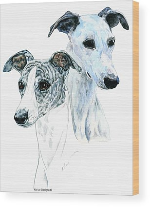 Whippet Wood Prints