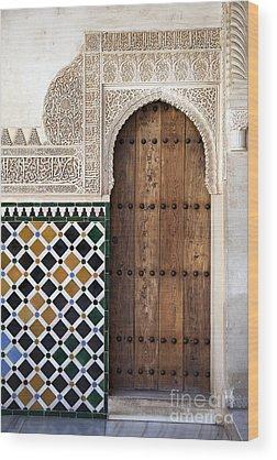 Door Wood Prints