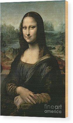 Mona Lisa Wood Prints