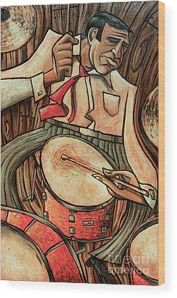 Drum Wood Prints