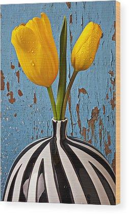 Tulips Wood Prints