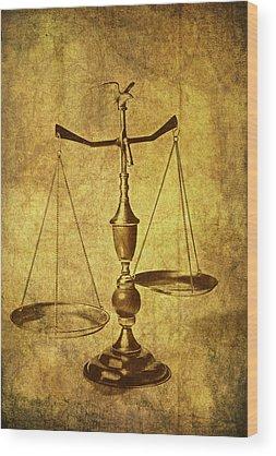 Justice Wood Prints