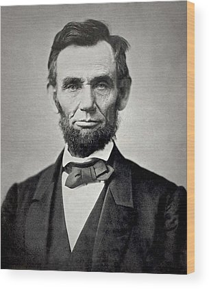 Abraham Lincoln Wood Prints