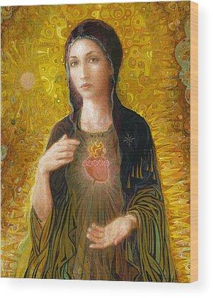 Religious Wood Prints