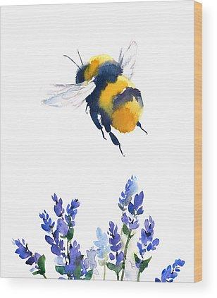 Bumblebee Wood Prints