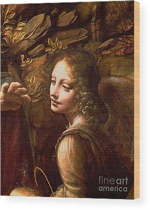 Leonardo Davinci Wood Prints