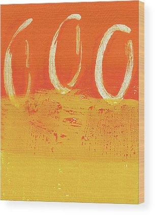 Abstract Sun Wood Prints
