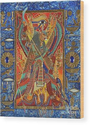 Goddess Wood Prints