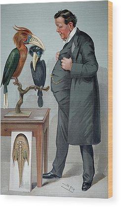 Hornbill Wood Prints