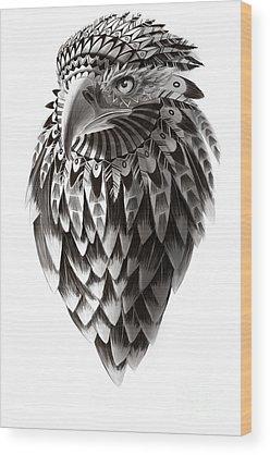 Bald Eagle Wood Prints