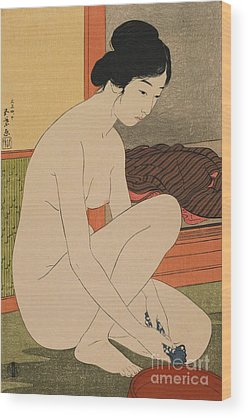 Asian Nude Wood Prints