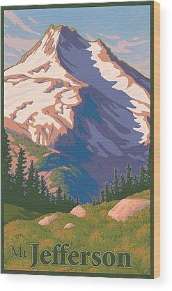 Pacific Northwest Wood Prints