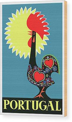 Portugal Wood Prints