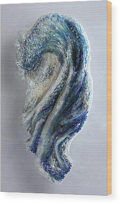 Beach Glass Wood Prints