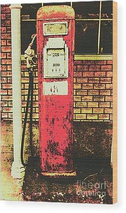 Gas Station Wood Prints
