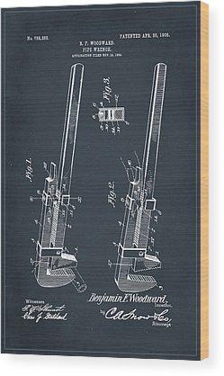 Patent Pending Mixed Media Wood Prints