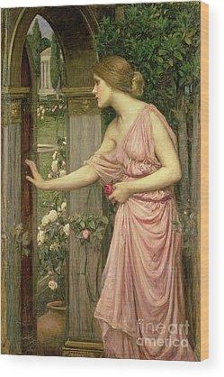 Rose Garden Wood Prints