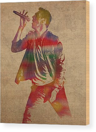 Coldplay Wood Prints