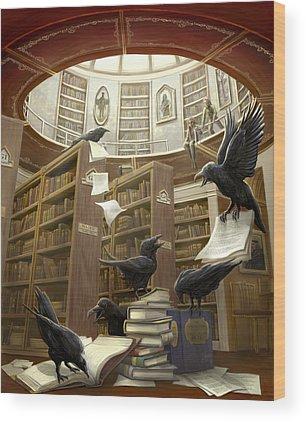 Magic Wood Prints