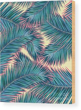 Pink Tree Wood Prints