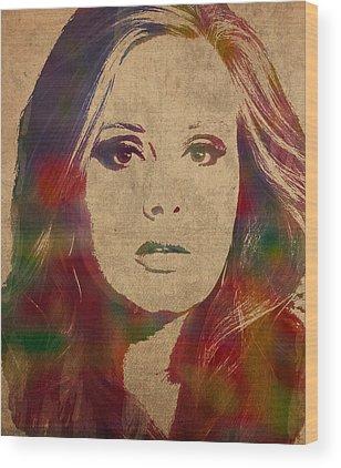 Adele Wood Prints